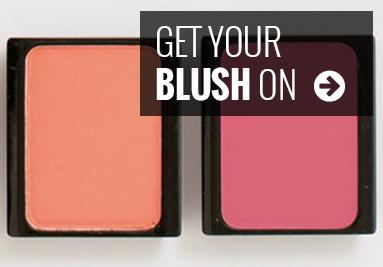Get your blush on