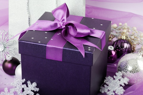 Purple gift box color me beautiful ireland purple gift box negle Gallery